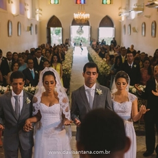 Casamento Duplo foi pura emoção!