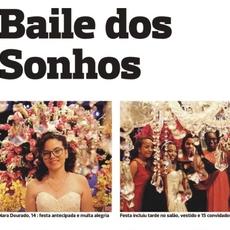 Sétima Edição do Baile Sonho de Menina é destaque nos jornais